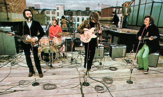 beatles rooftop 1