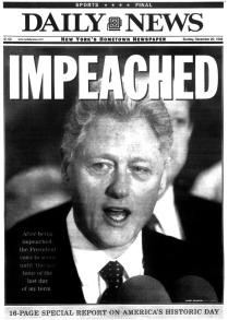 impeached daily news