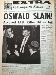 la times oswald slain