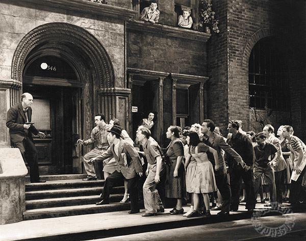 street scene 1947