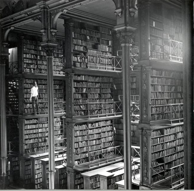 huge library shot