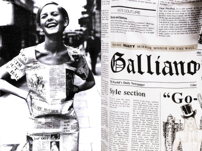 INSPIRATION Twiggy 1966... Christian Dior SS--2000