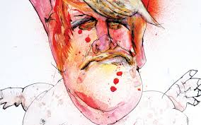 steadman draws trump