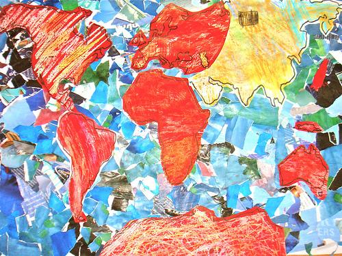 crayon map