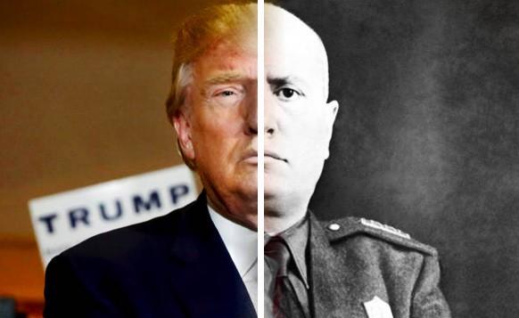 Trump-Mussolini