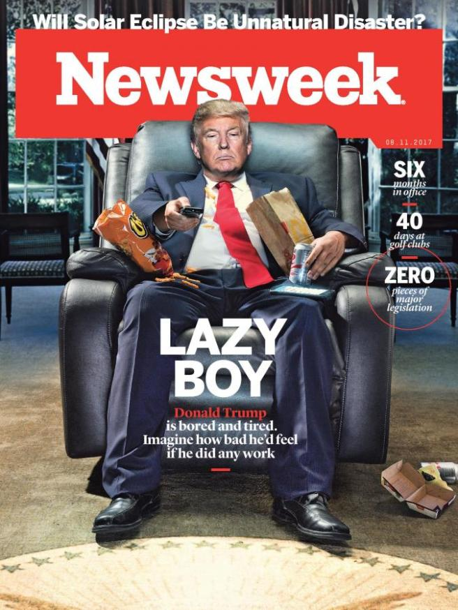trump newsweek cover